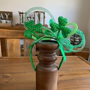St Patrick's Day Headband Fascinator Shamrock